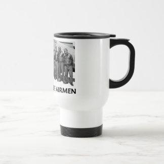 Tuskegee Airmen 15 Oz Stainless Steel Travel Mug