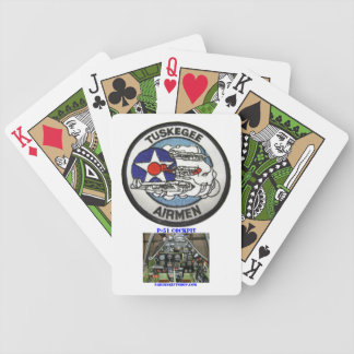 TUSKEGEE AIRMEN PLAYING CARDS