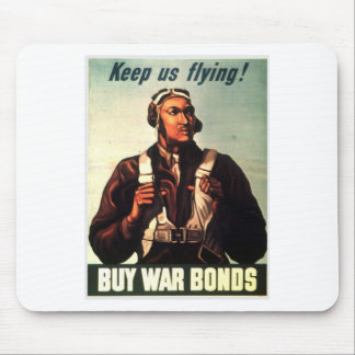 Tuskegee Airmen, Red Tail War-bond Mouse Pads