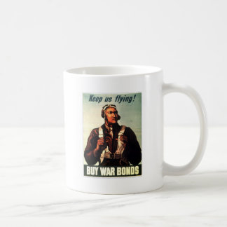 Tuskegee Airmen, Red Tail War-bond Mug