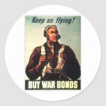 Tuskegee Airmen, Red Tail War-bond Stickers