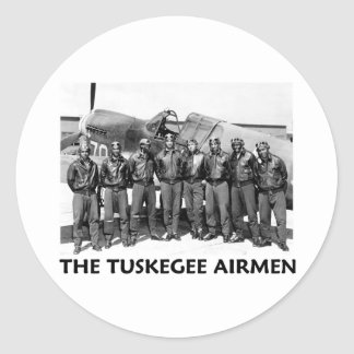 Tuskegee Airmen Classic Round Sticker