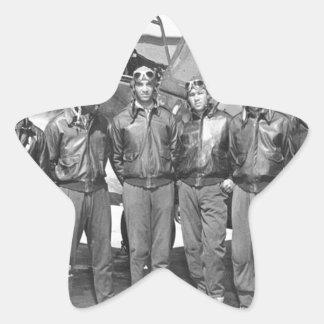 tuskegee airmen star sticker