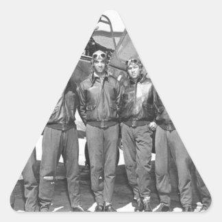 tuskegee airmen triangle sticker