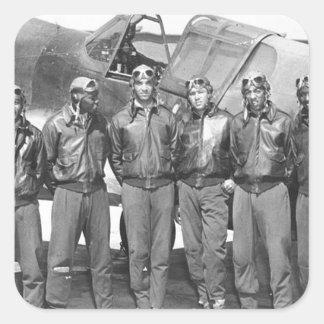 tuskegee airmen square sticker