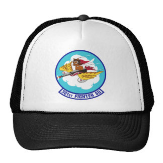 Tuskegee Airmen, Tuskegee Red Tails 301-fighter-sq Trucker Hat