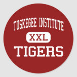 Tuskegee Institute - Tigers - Tuskegee Institute Round Stickers