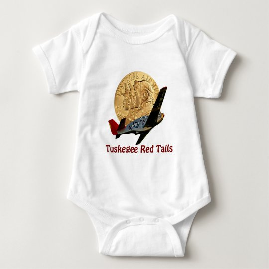 Tuskegee Red tail Baby Bodysuit