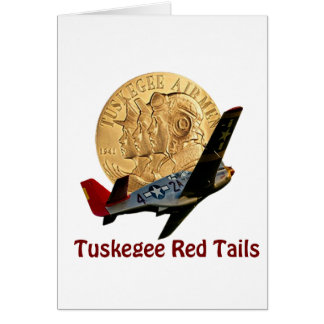 Tuskegee Red tail Card