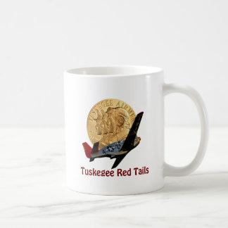 Tuskegee Red tail Coffee Mugs