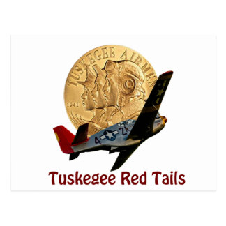 Tuskegee Red tail Post Cards