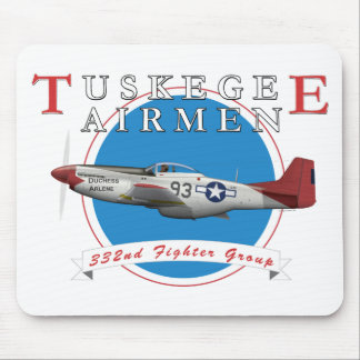 Tuskegee Red Tails Mouse Pad