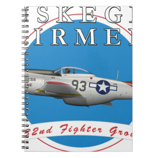 Tuskegee Red Tails Notebooks