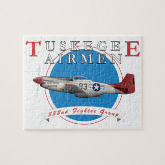 Tuskegee Red Tails Puzzle