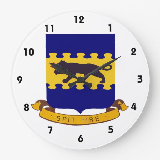 Tuskegee Spitfire Patch Round Clocks