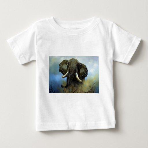 Tusks, Elephants Tee Shirt