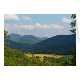 Tusquittee Valley Stationery Note Card