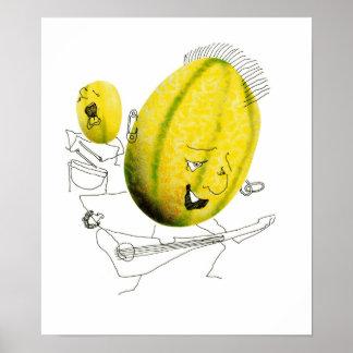 TUT - melón de la roca Posters