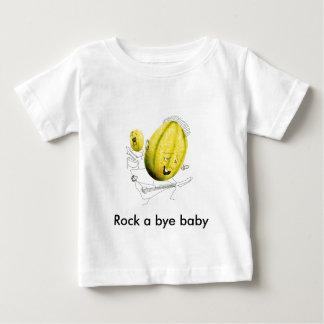 TUT - rock melon, Rock a bye baby Baby T-Shirt