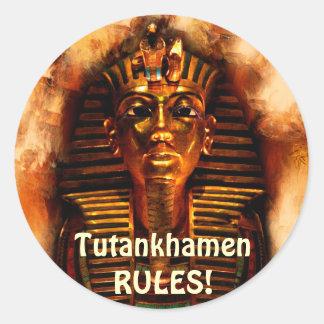 TUTANKHAMEN Ancient Egyptian Pharaoh Stickers