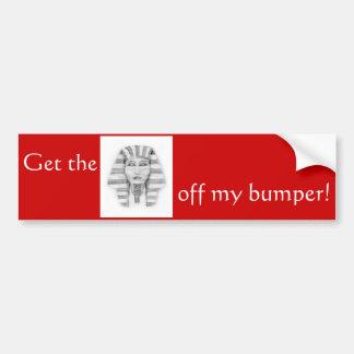Tutankhamen Bumper Sticker