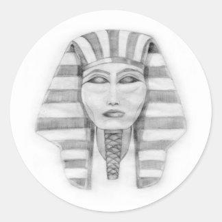 Tutankhamen Classic Round Sticker