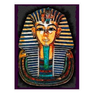 TUTANKHAMEN Egyptian Pharaoh Postcard