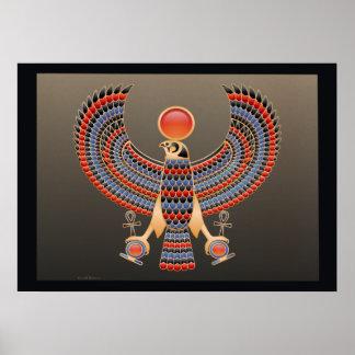 Tutankhamen Falcon Pectoral Poster