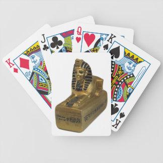 Tutankhamen Gold Playing Cards