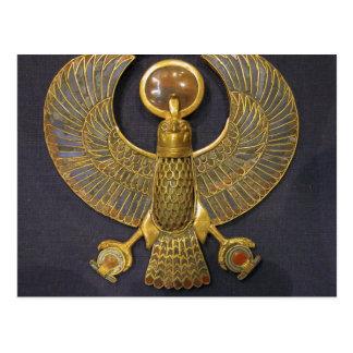Tutankhamen jewellery postcard