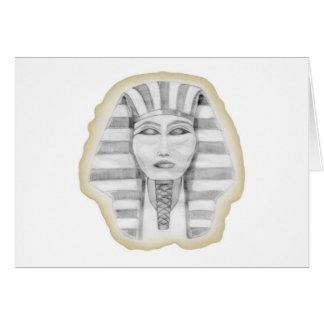 Tutankhamen (papyrus) card