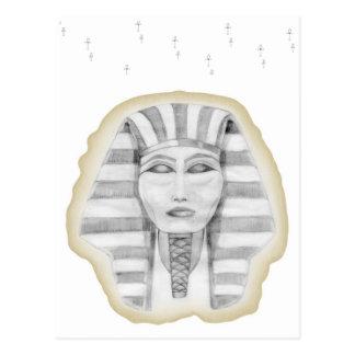 Tutankhamen (papyrus) postcard
