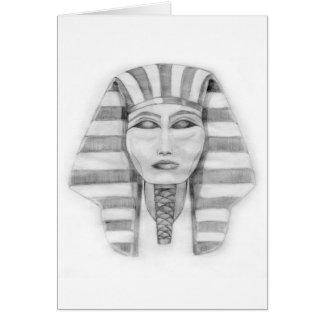 Tutankhamen Tarjeta De Felicitación