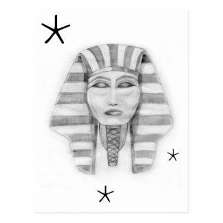 Tutankhamen Tarjeta Postal