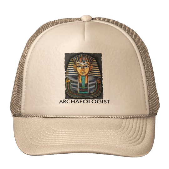 TUTANKHAMEN TRUCKER HAT