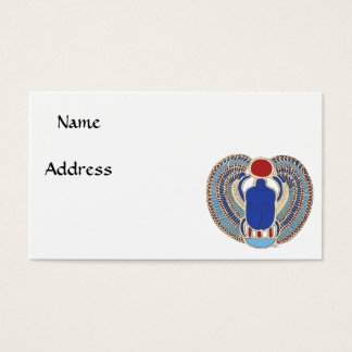 Tutankhamon Hieroglyph Business Card