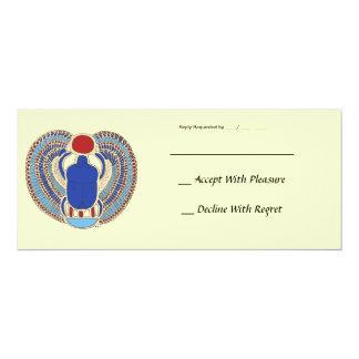 Tutankhamon Hieroglyph Card
