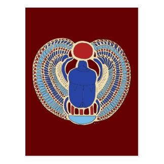 Tutankhamon Hieroglyph Postcard