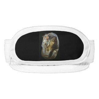 Tutankhamon's golden mask visor