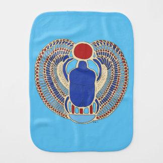Tutankhamon's Hieroglyph Burp Cloth