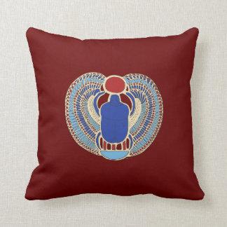 Tutankhamon's Hieroglyph Throw Pillow
