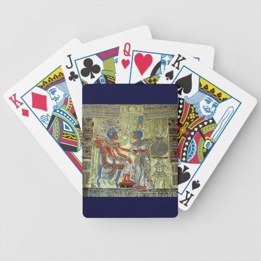 Tutankhamon's Throne Bicycle Playing Cards