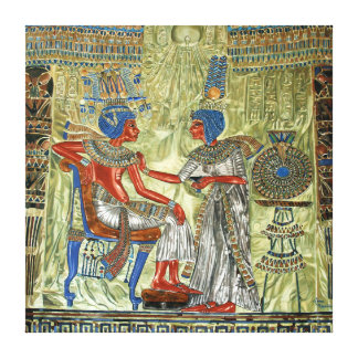 Tutankhamon's Throne Canvas Print