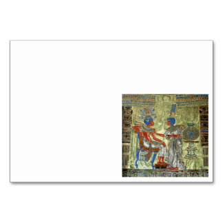 Tutankhamon's Throne Card