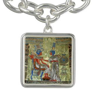 Tutankhamon's Throne Charm Bracelets