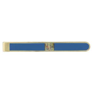 Tutankhamon's Throne Gold Finish Tie Bar