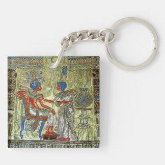 Tutankhamon's Throne Keychain