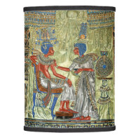 Tutankhamon's Throne Lamp Shade