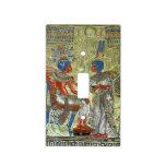 Tutankhamon's Throne Light Switch Plate