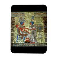 Tutankhamon's Throne Magnet